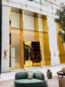 Facade boutique YSL Dubai